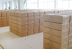 6.Finish packing warehouse
