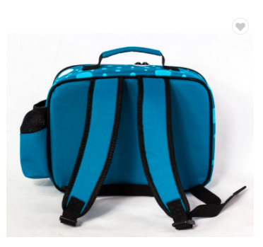 Polyester kids cooler lunch bag insulated